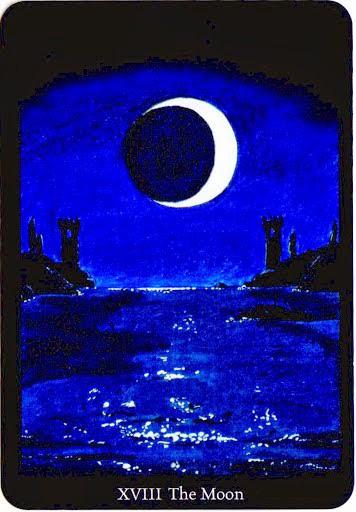 Lá The Moon trong bộ bài Anna K Tarot