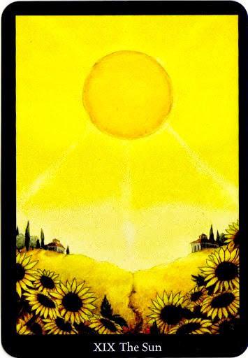 Lá The Sun trong bộ bài Anna K Tarot