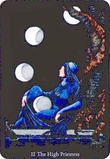 Lá The High Priestess – Anna K Tarot