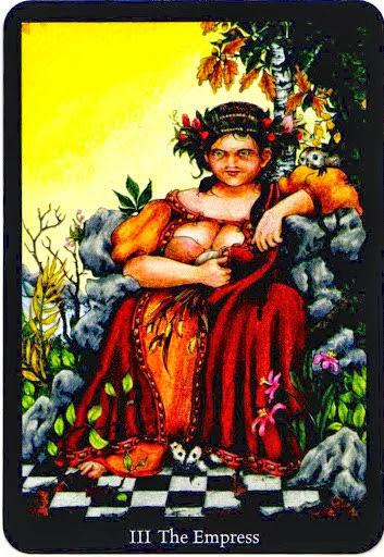 Lá The Empress – Anna K Tarot