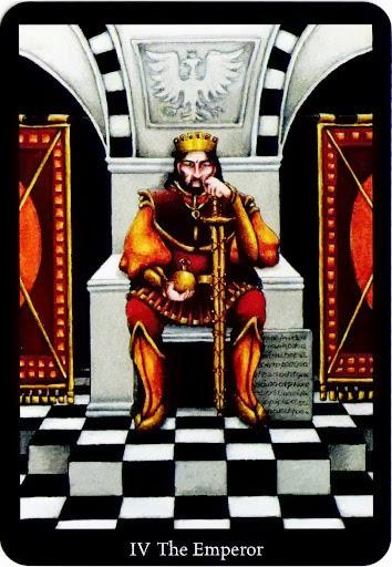 Lá The Emperor – Anna K Tarot