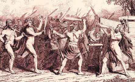 Heimdallr thổi tù và tại Ragnarök - khuyết danh