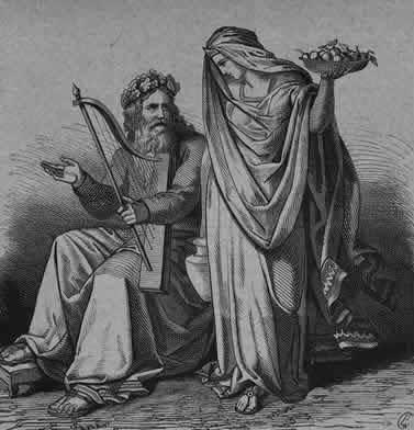 Bragi và Iðunn – khuyết danh
