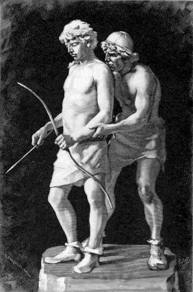 Höðr và Loki (1893) - khuyết danh