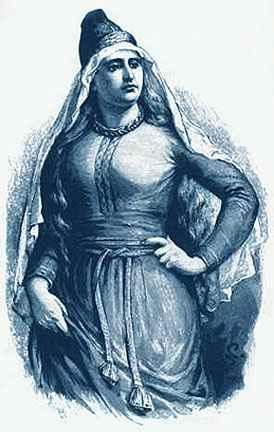 Frigg, vương hậu của Ásgarðr – khuyết danh