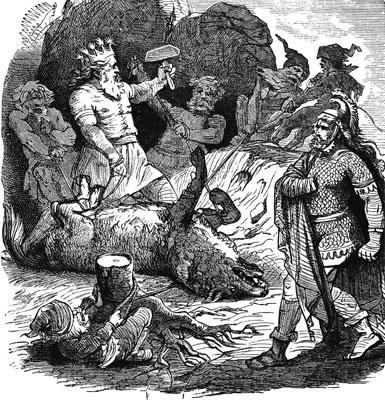 Fenrir bị xiềng (1884)