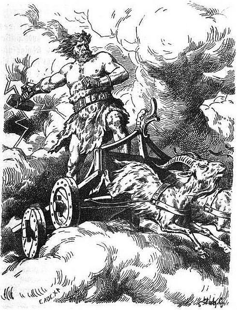 Þórr (1901) - tranh của Johannes Gehrts