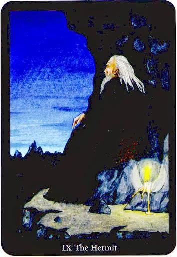 Lá The Hermit trong bộ bài Anna K Tarot