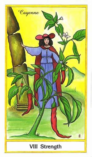 Ý nghĩa lá Strength trong bộ bài Herbal Tarot