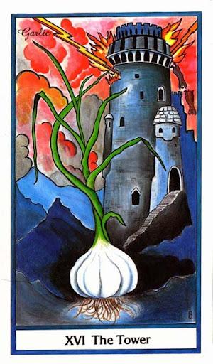 Ý nghĩa lá The Tower trong bộ bài Herbal Tarot