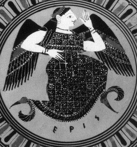 Eris, nữ thần Hy Lạp của sự bất hòa