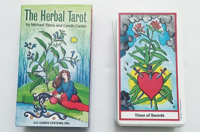 Herbal Tarot – Sách Hướng Dẫn