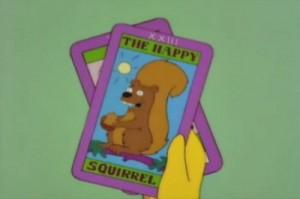 Ý Nghĩa Lá Bài Happy Squirrel