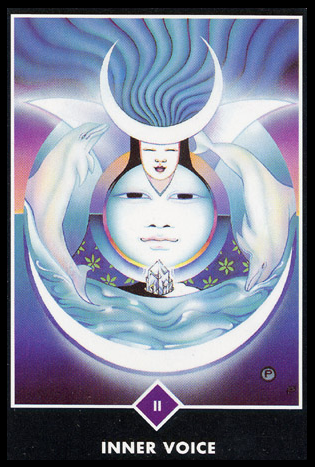 Ý nghĩa lá II. Inner Voice trong bộ bài Osho Zen Tarot