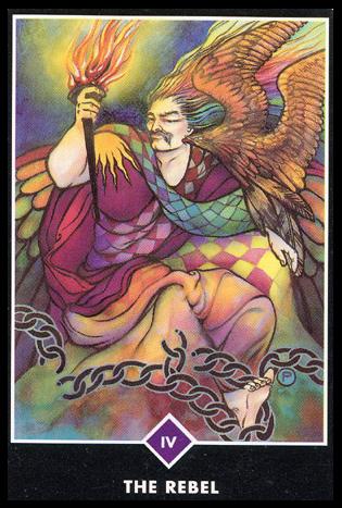 Ý nghĩa lá IV. The Rebel trong bộ bài Osho Zen Tarot