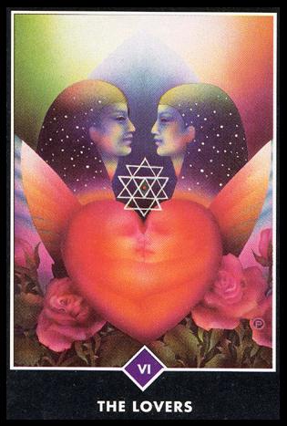 Ý nghĩa lá VI. The Lovers trong bộ bài Osho Zen Tarot