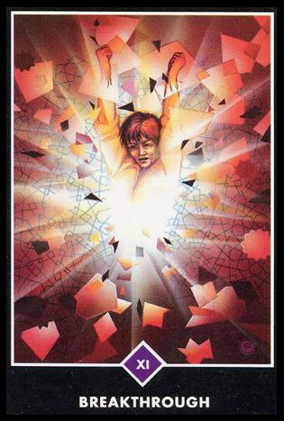 Ý nghĩa lá XI. Breakthrough trong bộ bài Osho Zen Tarot