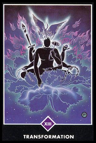 Ý nghĩa lá XIII. Transformation trong bộ bài Osho Zen Tarot