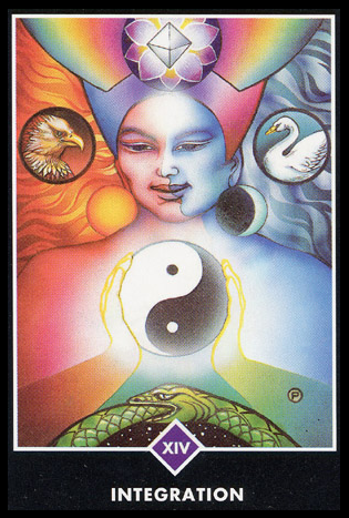 Ý nghĩa lá XIV. Integration trong bộ bài Osho Zen Tarot