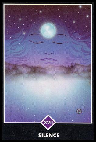 Ý nghĩa lá XVII. Silence trong bộ bài Osho Zen Tarot