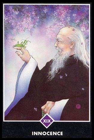Ý nghĩa lá XIX. Innocence trong bộ bài Osho Zen Tarot