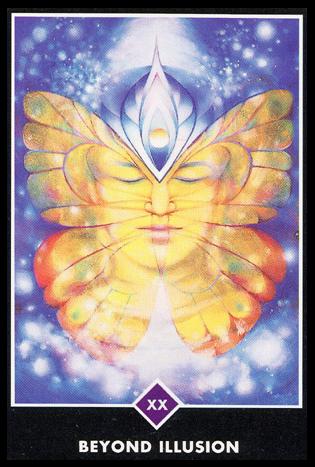 Ý nghĩa lá XX. Beyond Illusion trong bộ bài Osho Zen Tarot