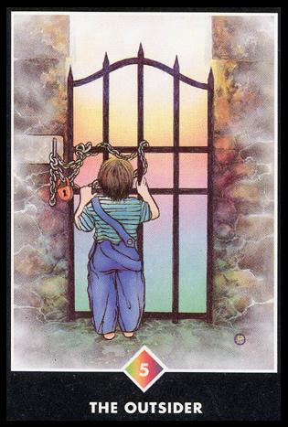 Ý nghĩa lá 5 of Rainbows trong bộ bài Osho Zen Tarot