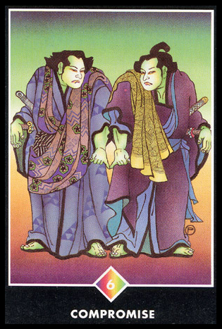 Ý nghĩa lá 6 of Rainbows trong bộ bài Osho Zen Tarot