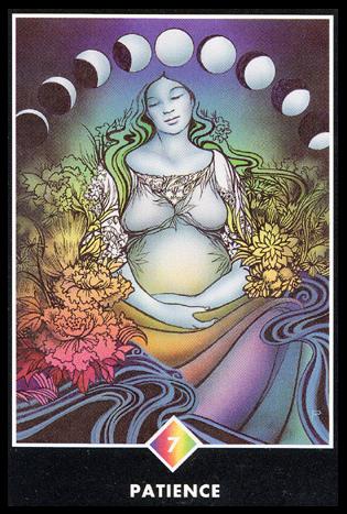 Ý nghĩa lá 7 of Rainbows trong bộ bài Osho Zen Tarot
