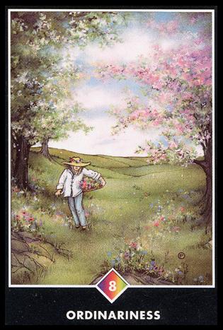 Ý nghĩa lá 8 of Rainbows trong bộ bài Osho Zen Tarot