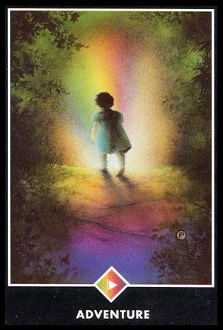 Ý nghĩa lá Page of Rainbows trong bộ bài Osho Zen Tarot
