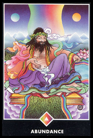 Ý nghĩa lá King of Rainbows trong bộ bài Osho Zen Tarot