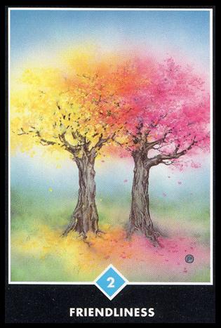Ý nghĩa lá 2 of Water trong bộ bài Osho Zen Tarot