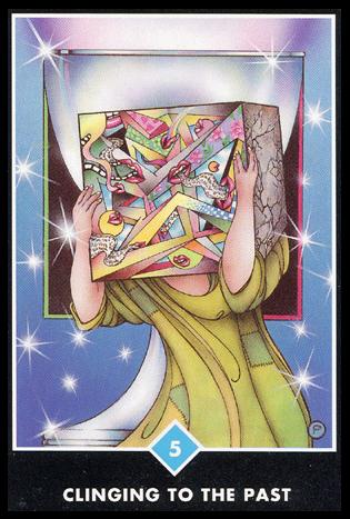 Ý nghĩa lá 5 of Water trong bộ bài Osho Zen Tarot