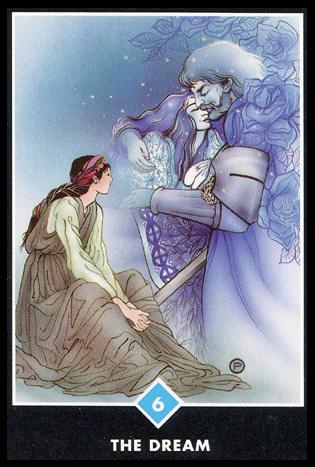 Ý nghĩa lá 6 of Water trong bộ bài Osho Zen Tarot