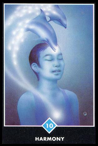 Ý nghĩa lá 10 of Water trong bộ bài Osho Zen Tarot
