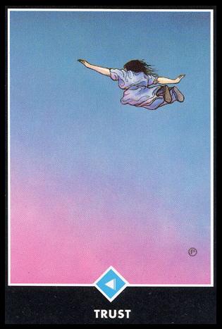 Ý nghĩa lá Knight of Water trong bộ bài Osho Zen Tarot