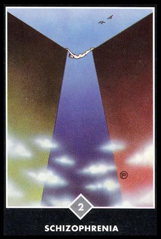 Ý nghĩa lá 2 of Clouds trong bộ bài Osho Zen Tarot