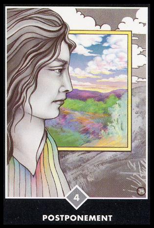 Ý nghĩa lá 4 of Clouds trong bộ bài Osho Zen Tarot