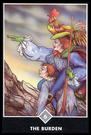 Ý nghĩa lá 6 of Clouds trong bộ bài Osho Zen Tarot