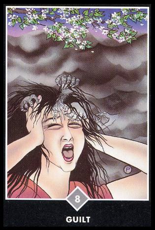 Ý nghĩa lá 8 of Clouds trong bộ bài Osho Zen Tarot
