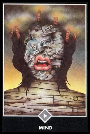 Ý nghĩa lá Page of Clouds trong bộ bài Osho Zen Tarot
