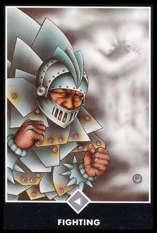 Ý nghĩa lá Knight of Clouds trong bộ bài Osho Zen Tarot