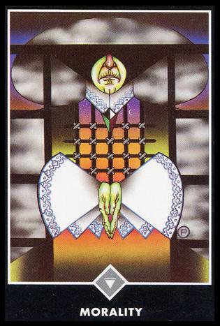 Ý nghĩa lá Queen of Clouds trong bộ bài Osho Zen Tarot