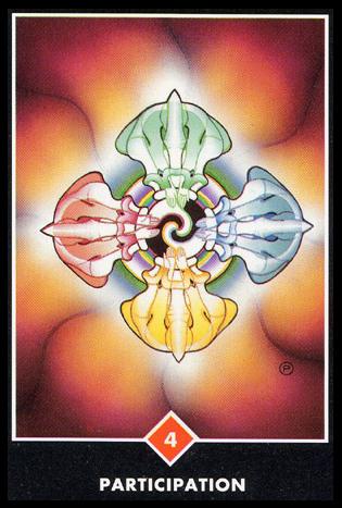 Ý nghĩa lá 4 of Fire trong bộ bài Osho Zen Tarot