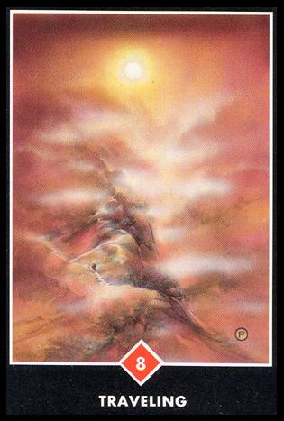 Ý nghĩa lá 8 of Fire trong bộ bài Osho Zen Tarot