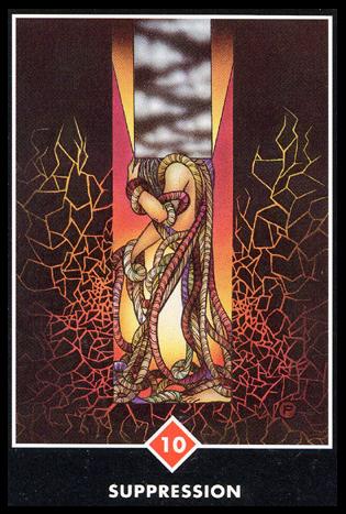 Ý nghĩa lá 10 of Fire trong bộ bài Osho Zen Tarot