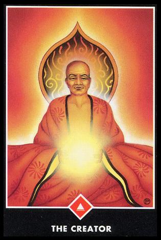 Ý nghĩa lá King of Fire trong bộ bài Osho Zen Tarot