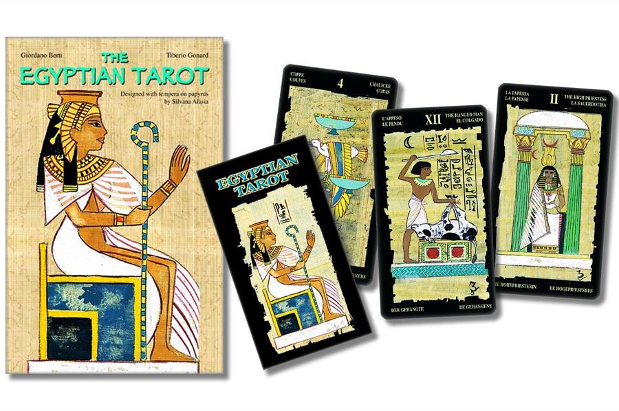 Egyptian Tarot – Sách Hướng Dẫn