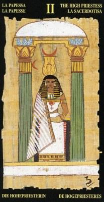 Ý nghĩa lá II The High Priestess trong bộ bài Egyptian Tarot